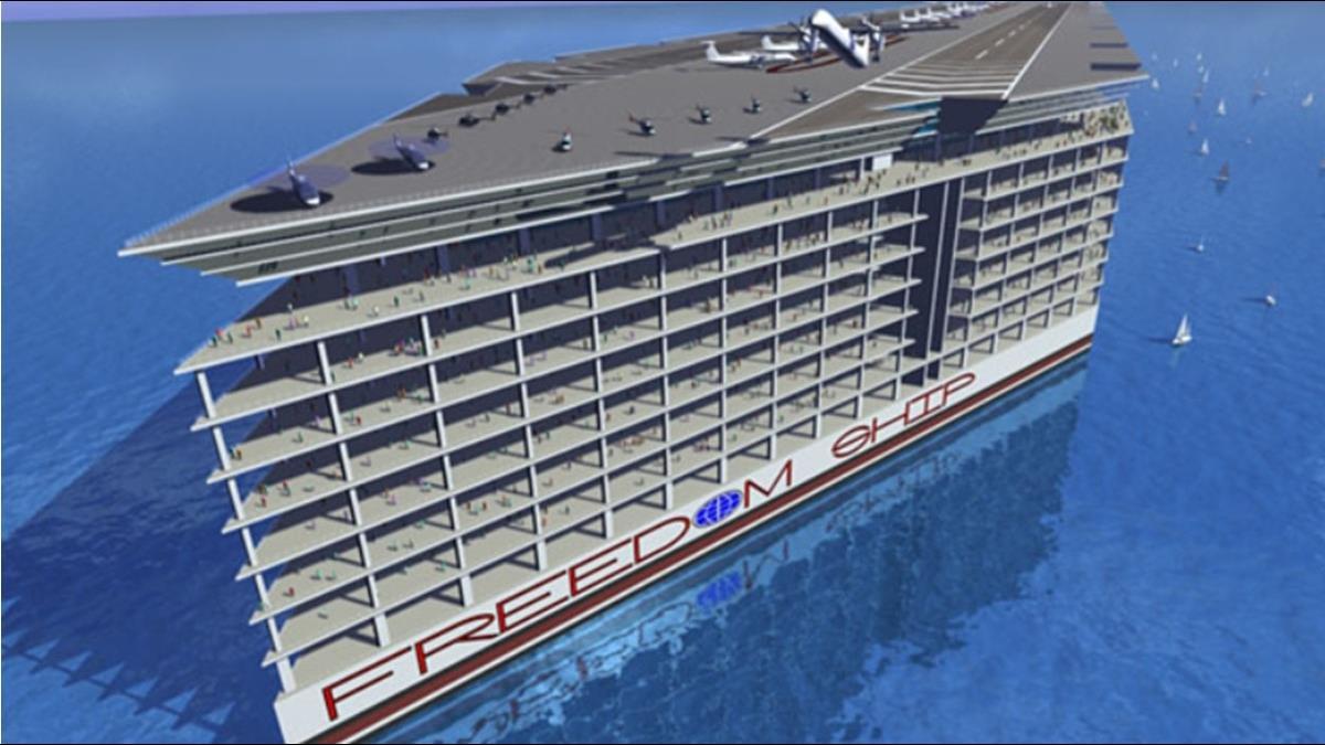 2年繞地球1圈?美企砸3千億打造海上漂浮城市