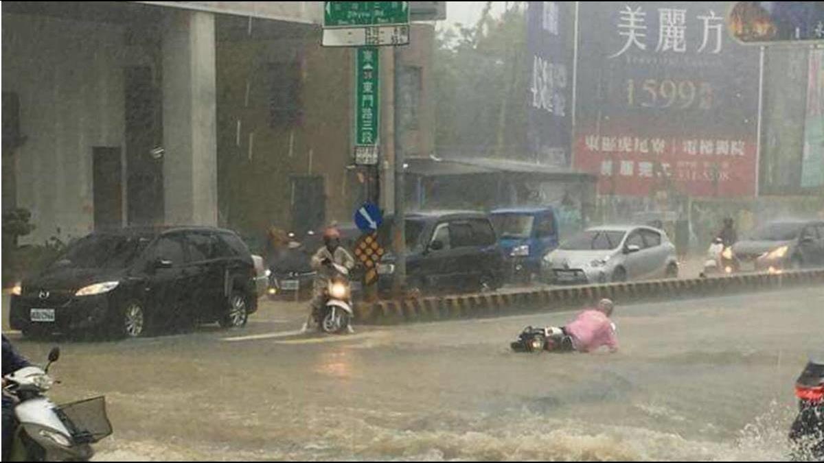 摩托车泡水能不能发起?察看这水位高度是关键