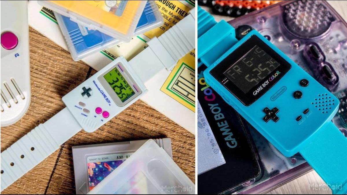 童年回憶爆發!任天堂推Game Boy遊戲機手錶