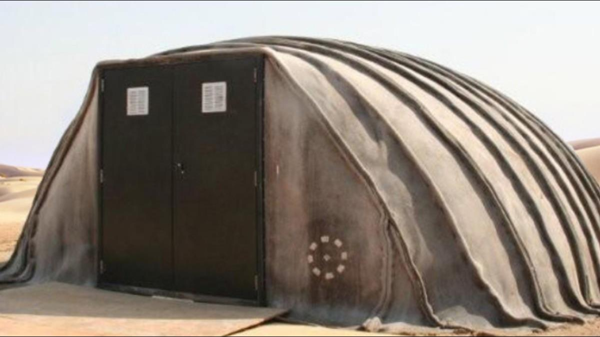 水泥毯輕鬆打造最堅固帳篷?最長能住25年