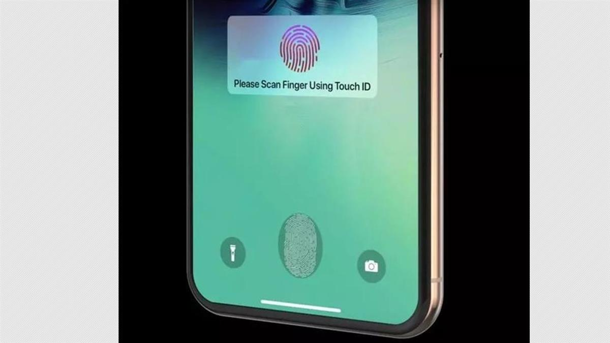 Touch ID回歸?蘋果爆申請4指紋解鎖新專利