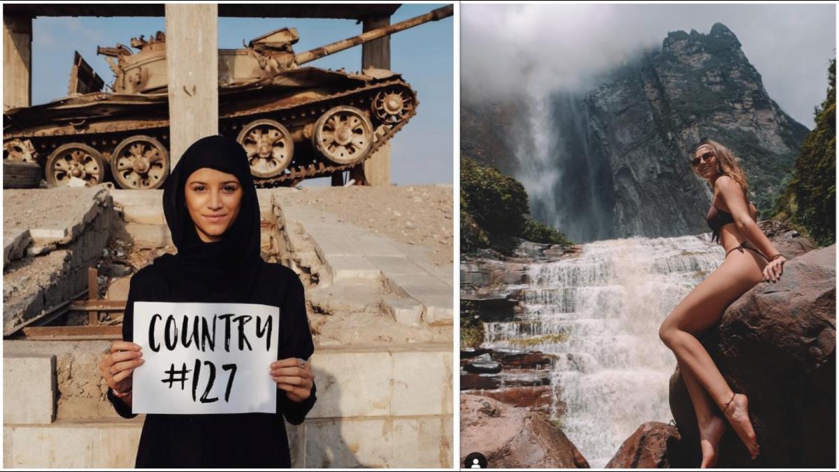 史上最年輕!21歲正妹靠5招自費遊歷196國