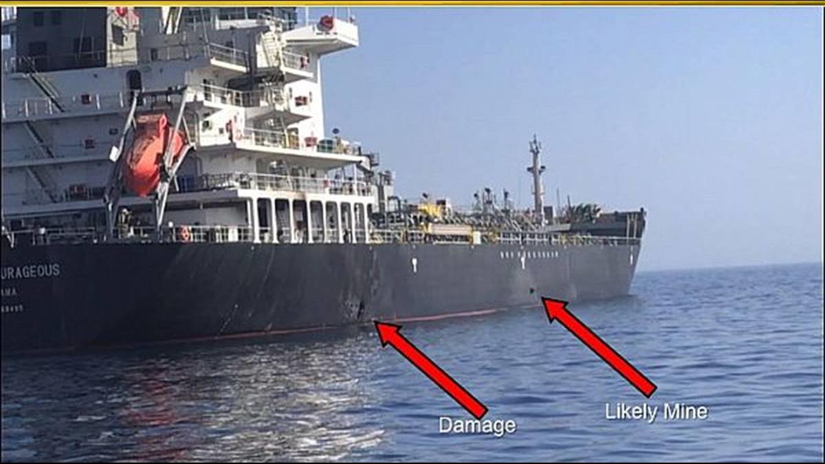 油輪非遭魚雷擊中?日國華產業:疑飛行物攻擊