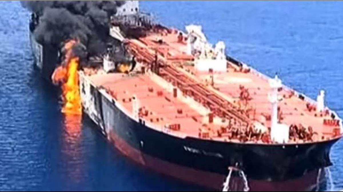 中油油船遭襲! 價值10億元石油腦報銷