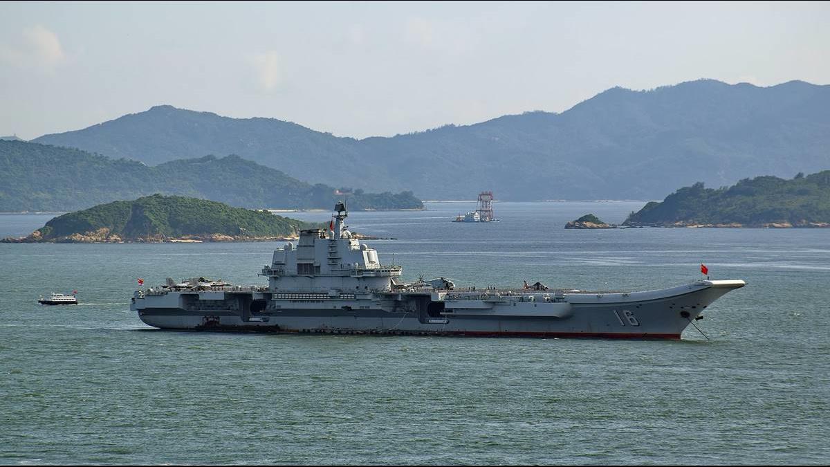 挑釁川普?解放軍遼寧號首度遠航逼近南海