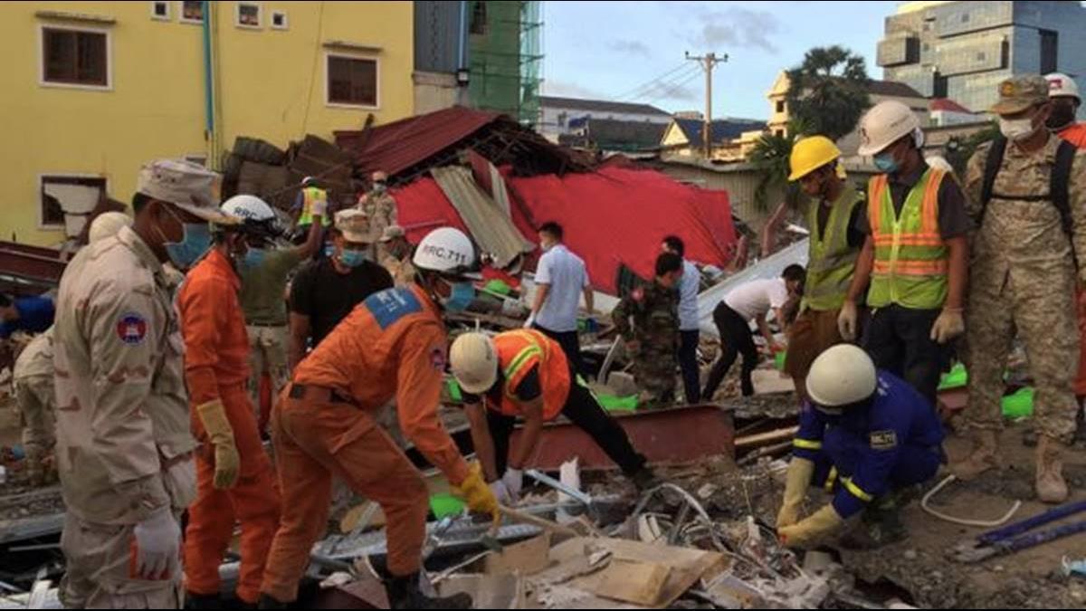 陸資狂湧柬埔寨!非法蓋豆腐渣大樓倒塌釀24死
