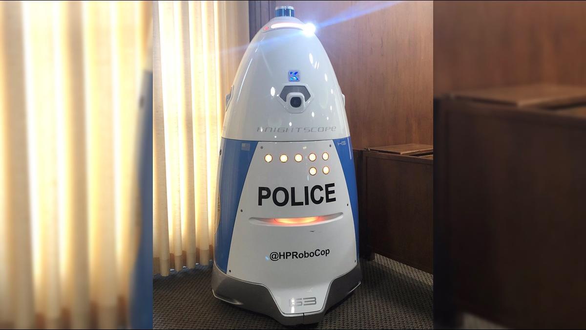 星戰R2D2成真?警察機器人正式加入執法行列