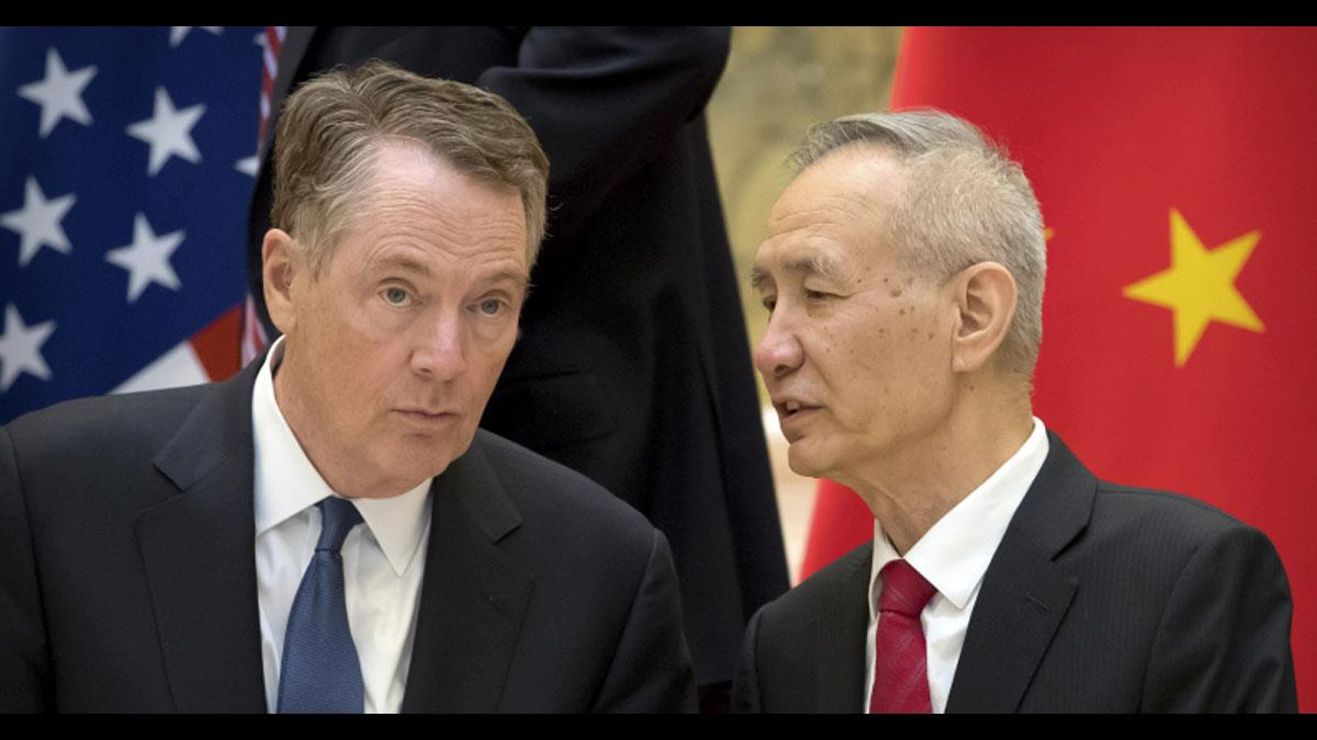 G20川習會前先暖身!劉鶴與美貿易代表通話