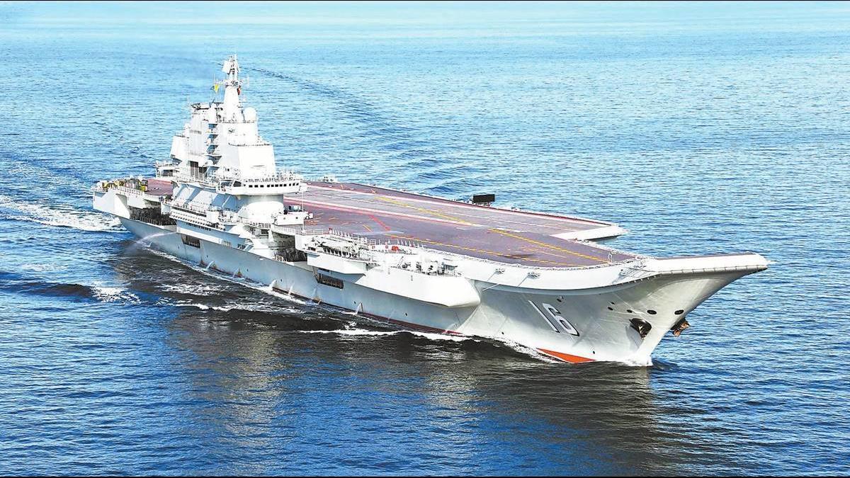 遼寧號完成首次繞台航訓!國防部籲國人放心