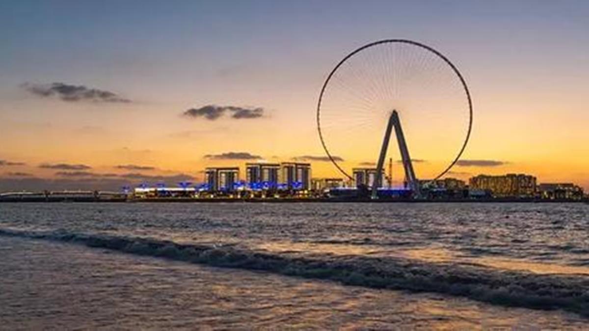 世界最高摩天輪!「杜拜之眼」明年對外開放