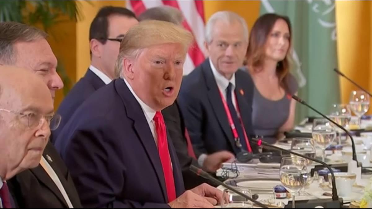 結束G20飛南韓!川普邀金正恩再會兩韓非軍事區