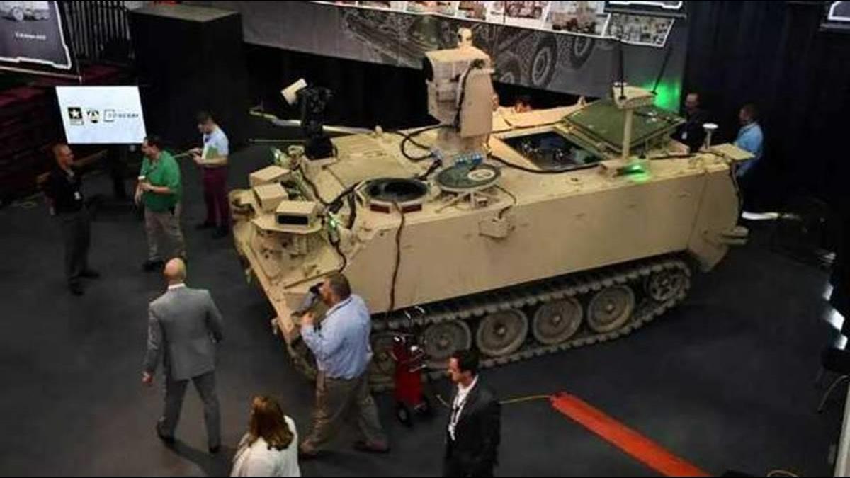 軍人免上戰場?美研發3版本無人戰車降低傷亡