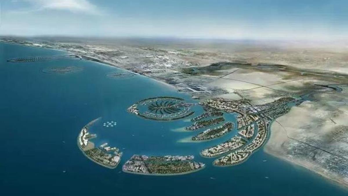 3千億放水流!杜拜世界島成全球最大爛尾工程