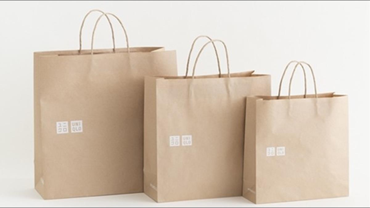 年省7800噸塑料!UNIQLO9月起改用環保購物袋