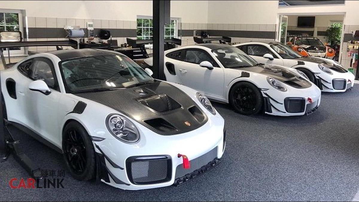 手骨很粗的團購!Porsche最強青蛙抱團集體現身