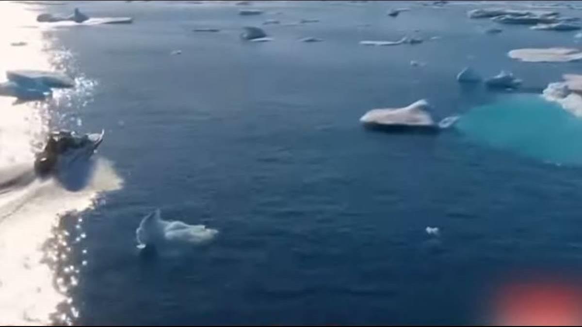 北極冰層快速融化 專家:2050年台北將淹沒
