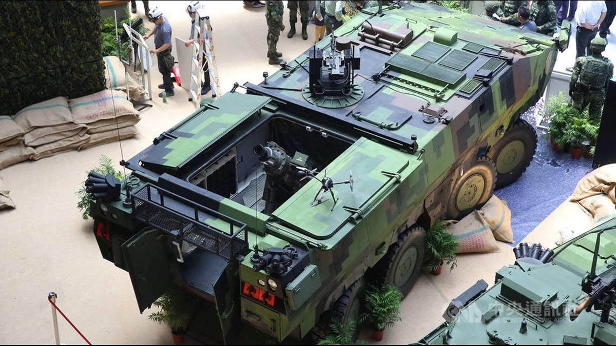 雲豹八輪甲車升級曝光! 超「機動」迫炮系統搭載無人機以一持萬