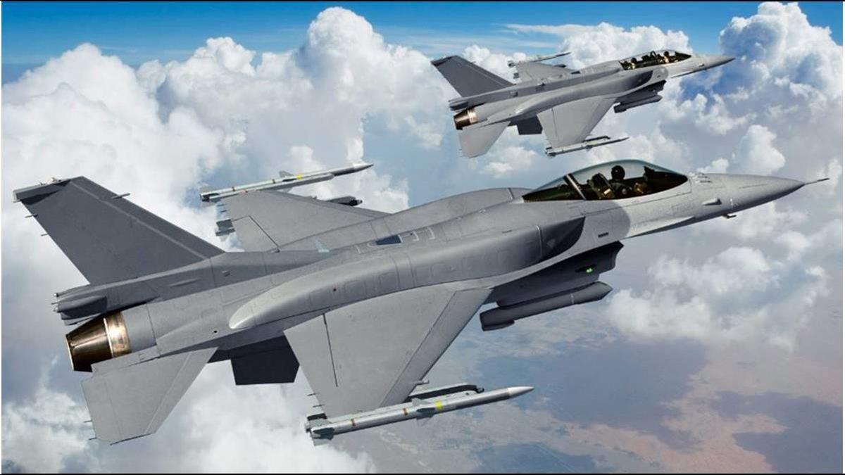 砸2500億買F-16V遭批凱子軍售?陸官媒嗆:解放台灣