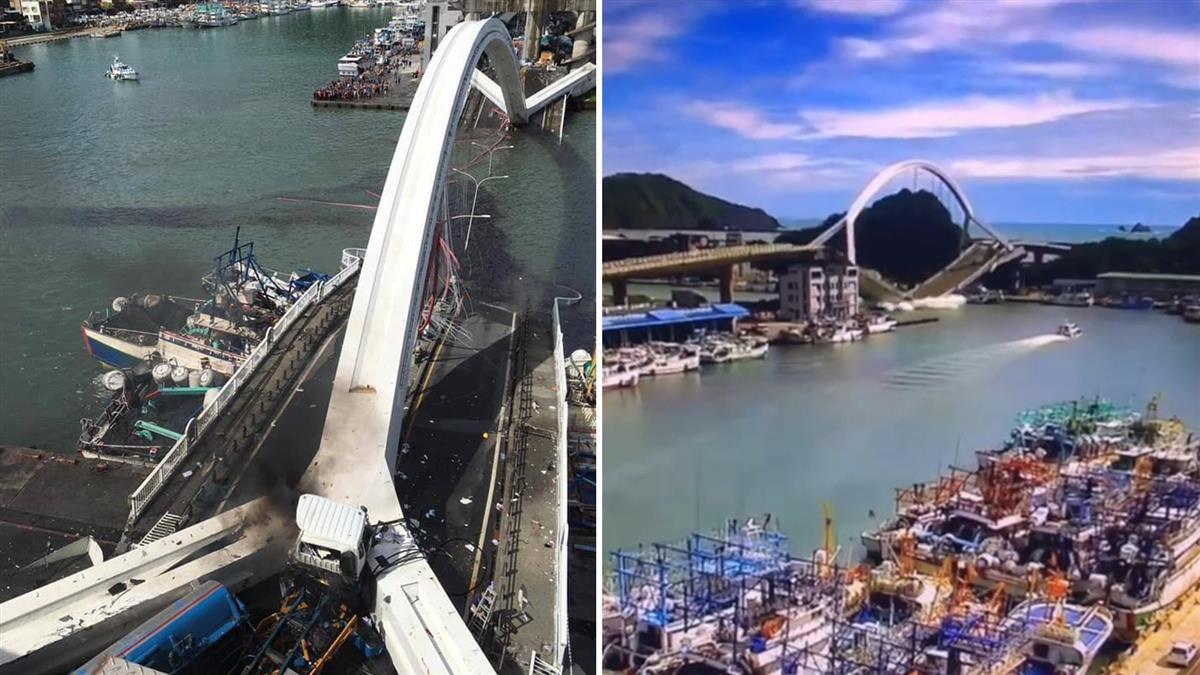交通部:南方澳斷橋原因將究責 新橋3年內完工