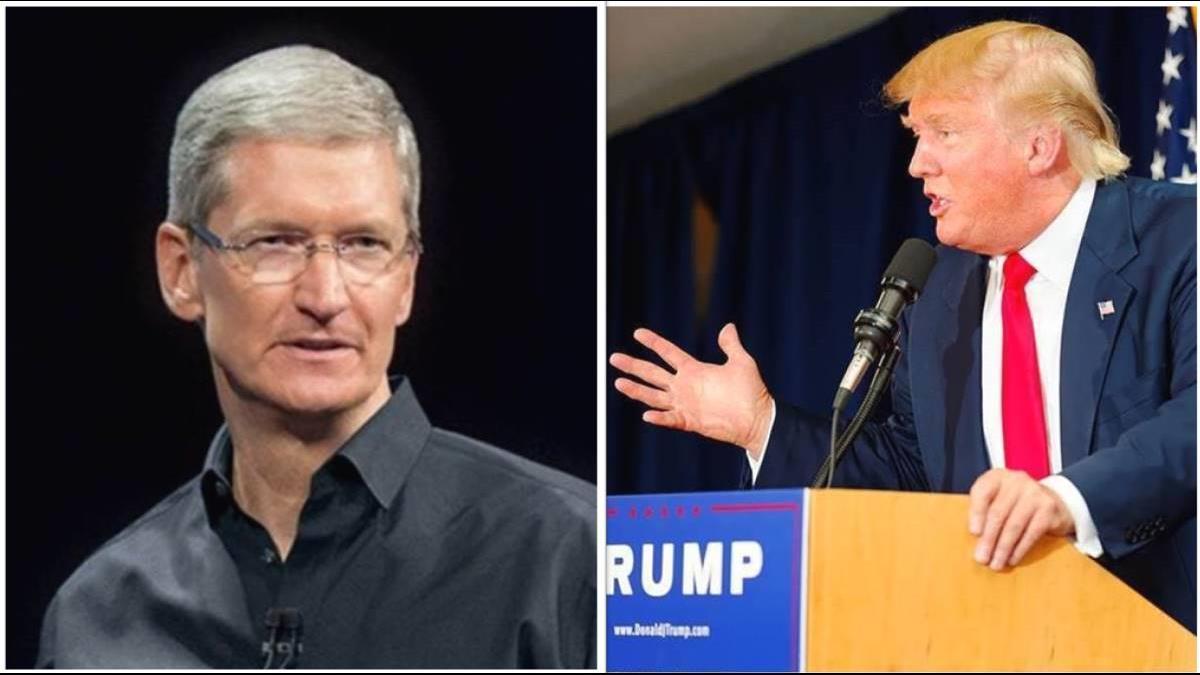 不滿川普任性太超過 蘋果庫克一怒狀告最高法院