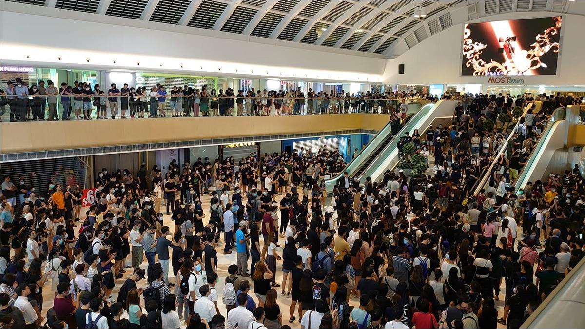 剝奪人權 反禁蒙面!香港部分示威者建「臨時政府」