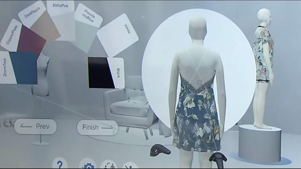 AI幫你訂衣服!漁網.寶特瓶變身小禮服