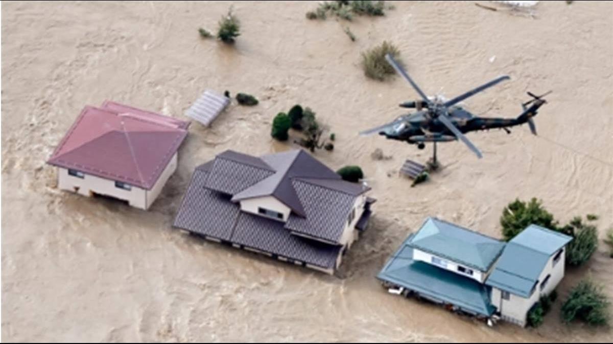 哈吉貝襲日61年來最強颱 重創釀災42死17失蹤