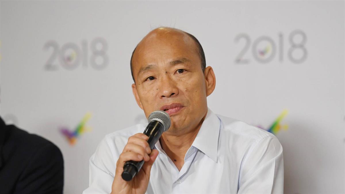 韓國瑜:高鐵南延砍掉重練 林佳龍反嗆:見樹不見林