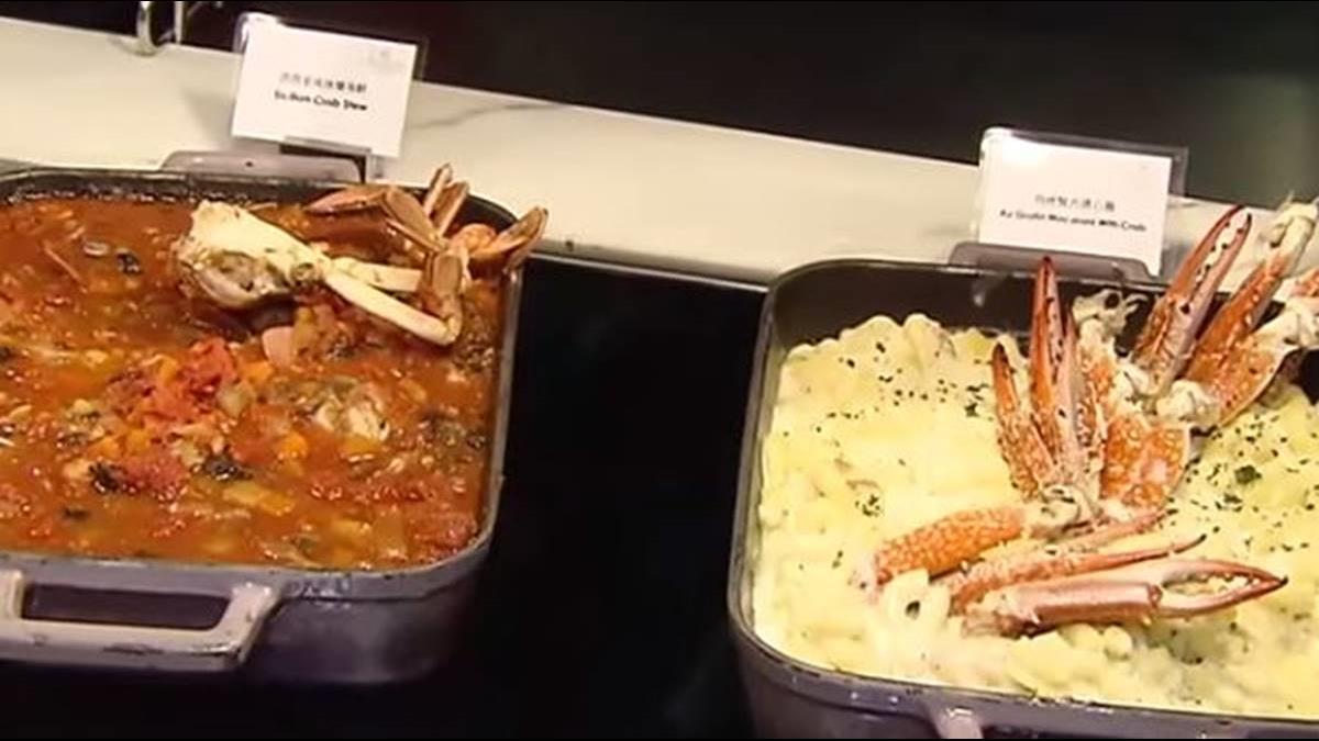 螃蟹美食戰! 「30款螃蟹料理」尬「Q版帝王蟹」