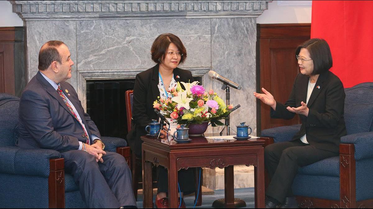 「持續深化,攜手合作」 瓜國準總統:我們站在台灣這邊