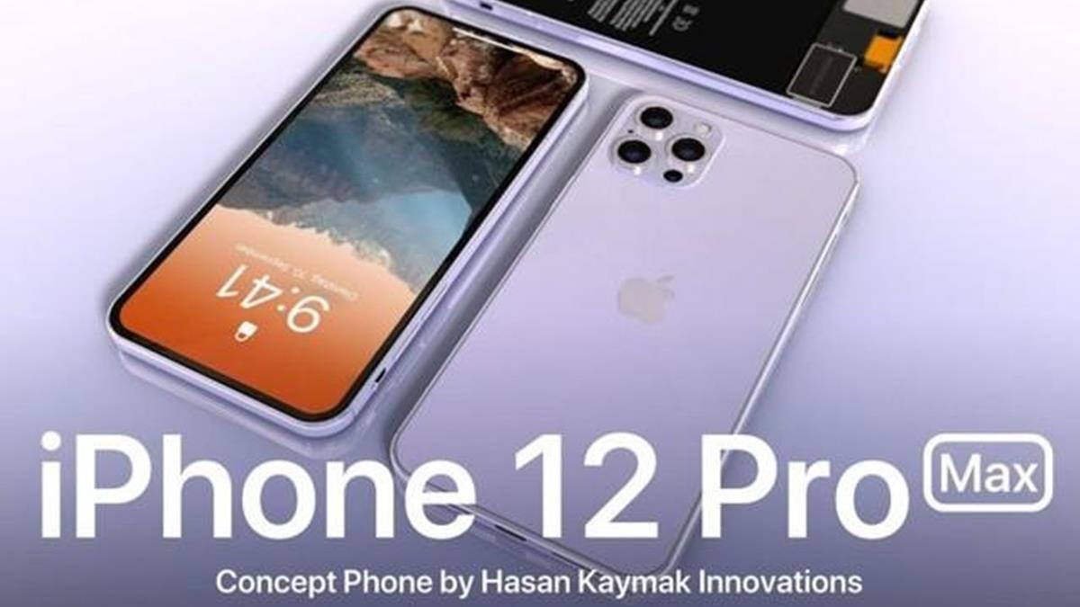 iPhone12ProMax設計概念圖曝光!瀏海真的不見了?