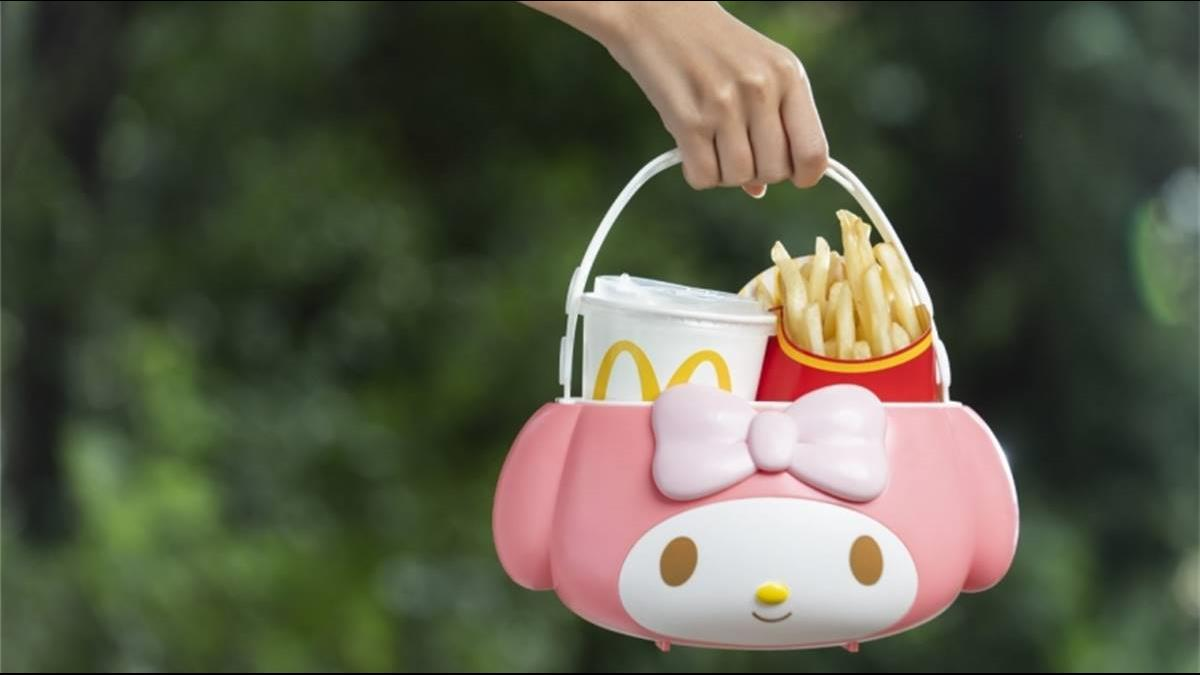 暴動萌物!麥當勞限量逸品「美樂蒂萬用置物籃」11時準時開賣