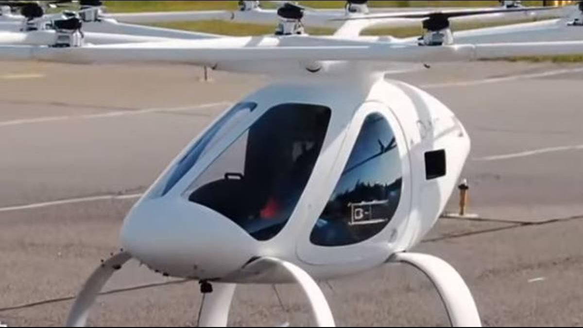 改坐「直升機」通勤! 德空中計程車曝光