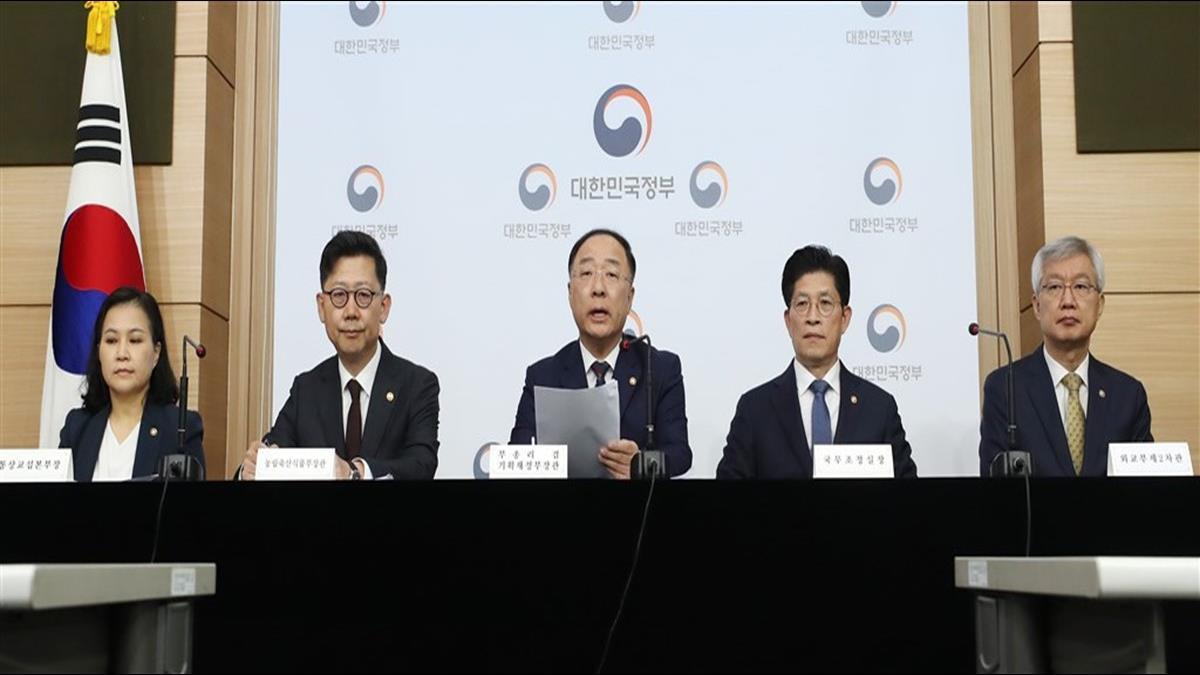 屈服川普?南韓告別WTO開發中國家