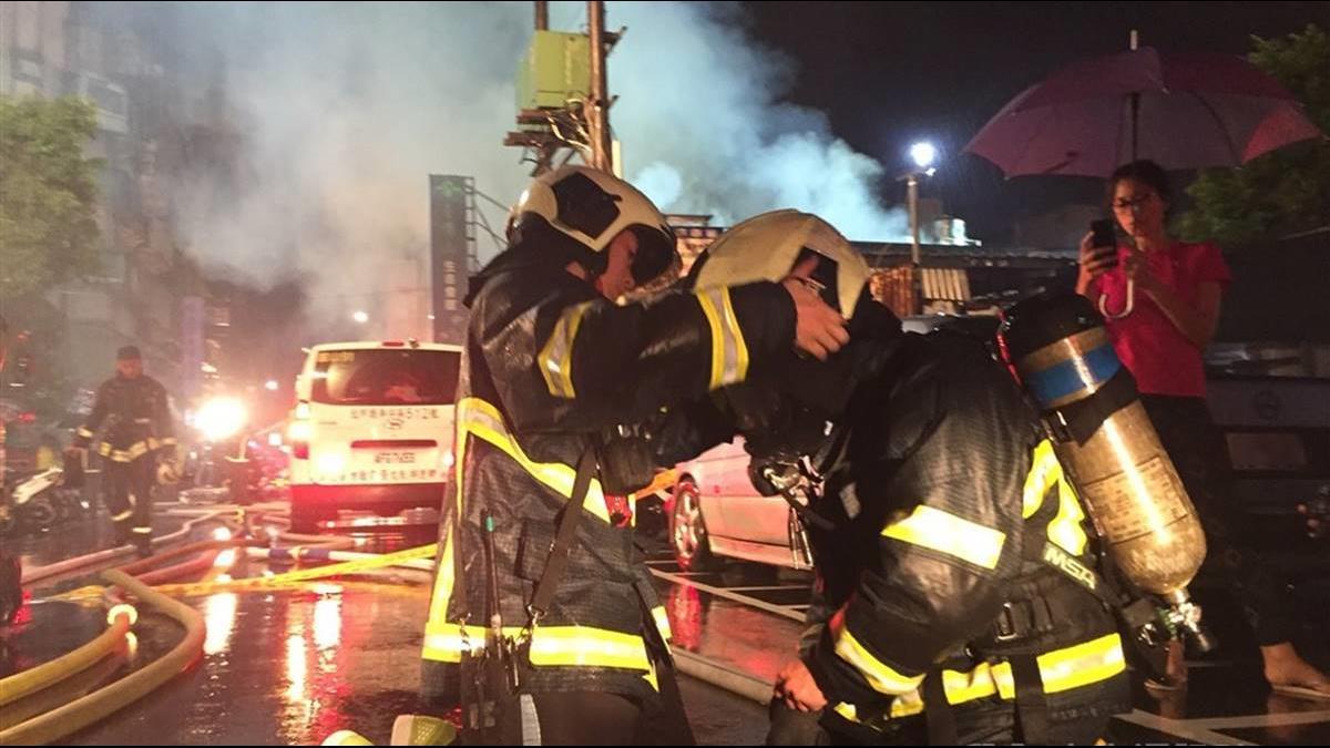 護勇消!無人命危害不得進入火場 消防法修正案三讀通過
