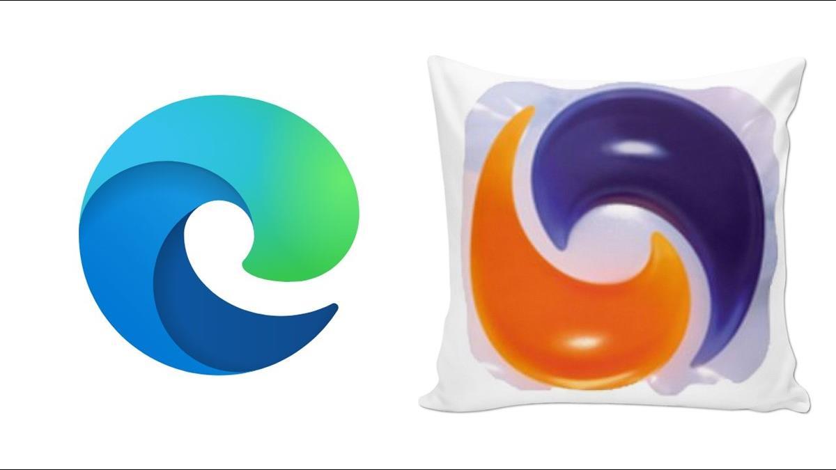 甩掉IE時代的影子!微軟新版「Edge」Logo被笑稱像「洗衣球」