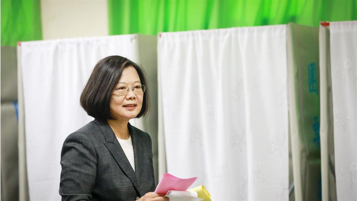 總統受邀BBC專訪 蔡英文:台灣擁有獨立的身分