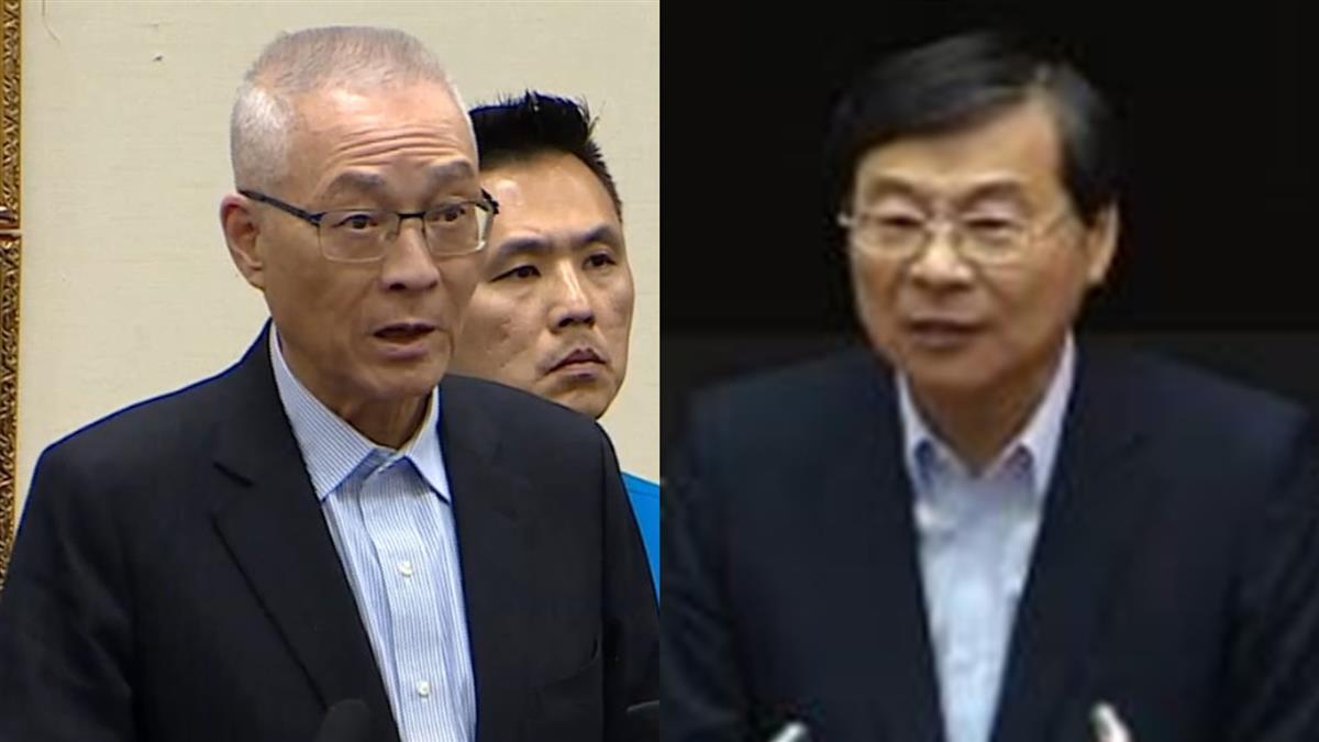 吳敦義准辭國民黨主席 代理人出爐