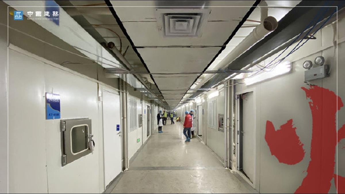 僅花8天打造完成 火神山醫院內部病房照曝光!