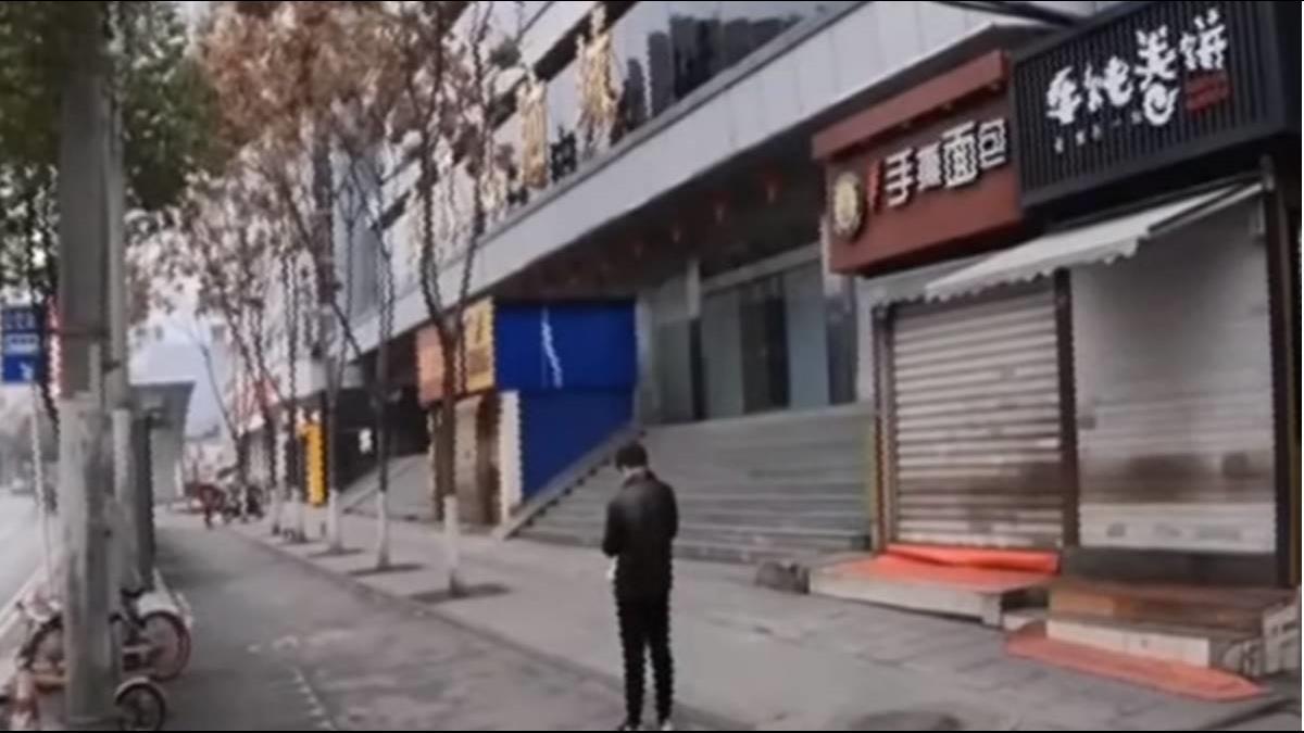 直擊武漢城內情況 陸網友VLOG全紀錄