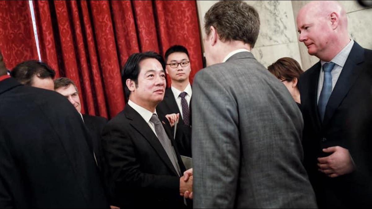 賴清德訪白宮國安會 創台美斷交以來最高層級紀錄