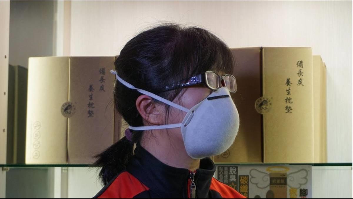 佛心放送! 金門業者發放1000個碳纖維抗菌口罩