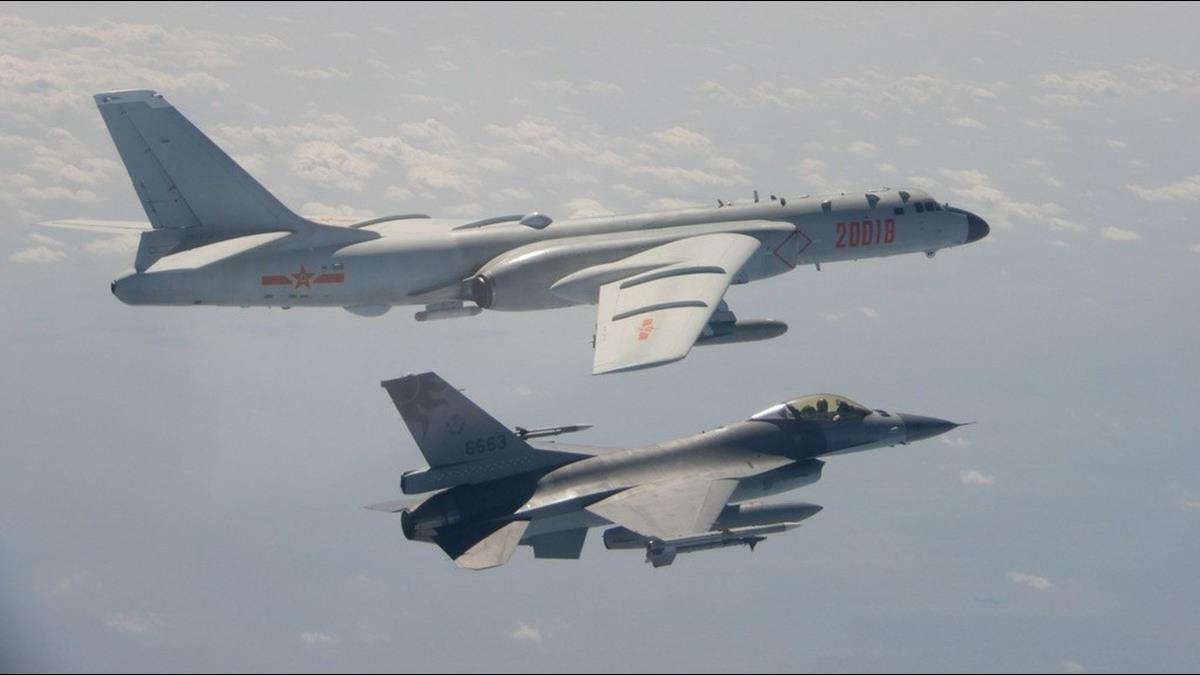 傳共軍殲11一度鎖定F-16 空軍:無此訊息