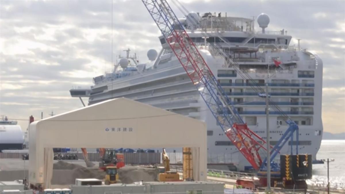 鑽石公主號乘客下船 日本將載往車站原地解散