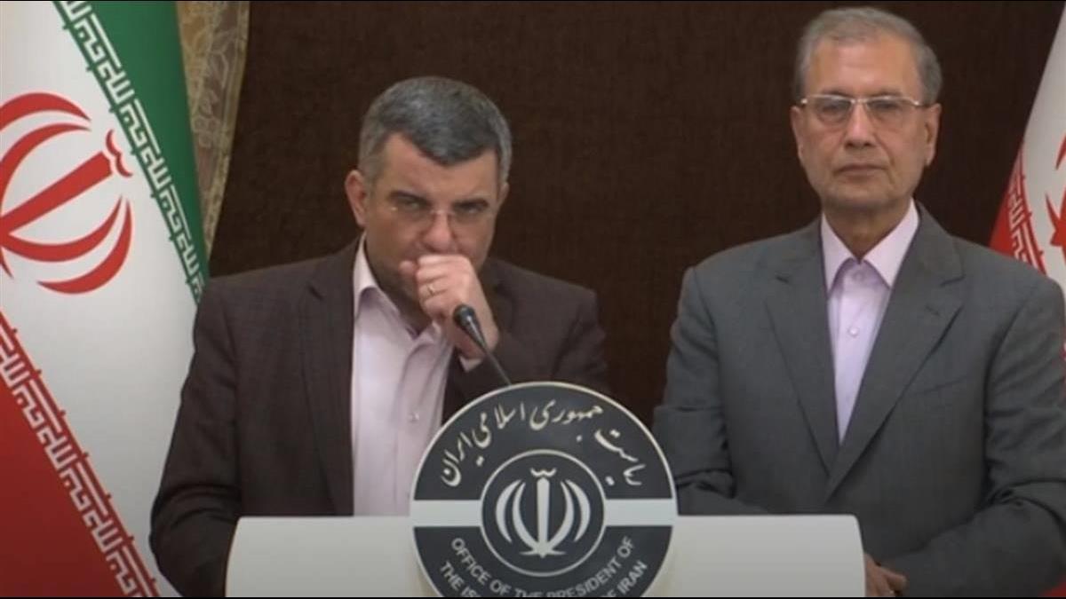伊朗副衛生部長感染武肺 確診前記者會邊咳邊冒汗