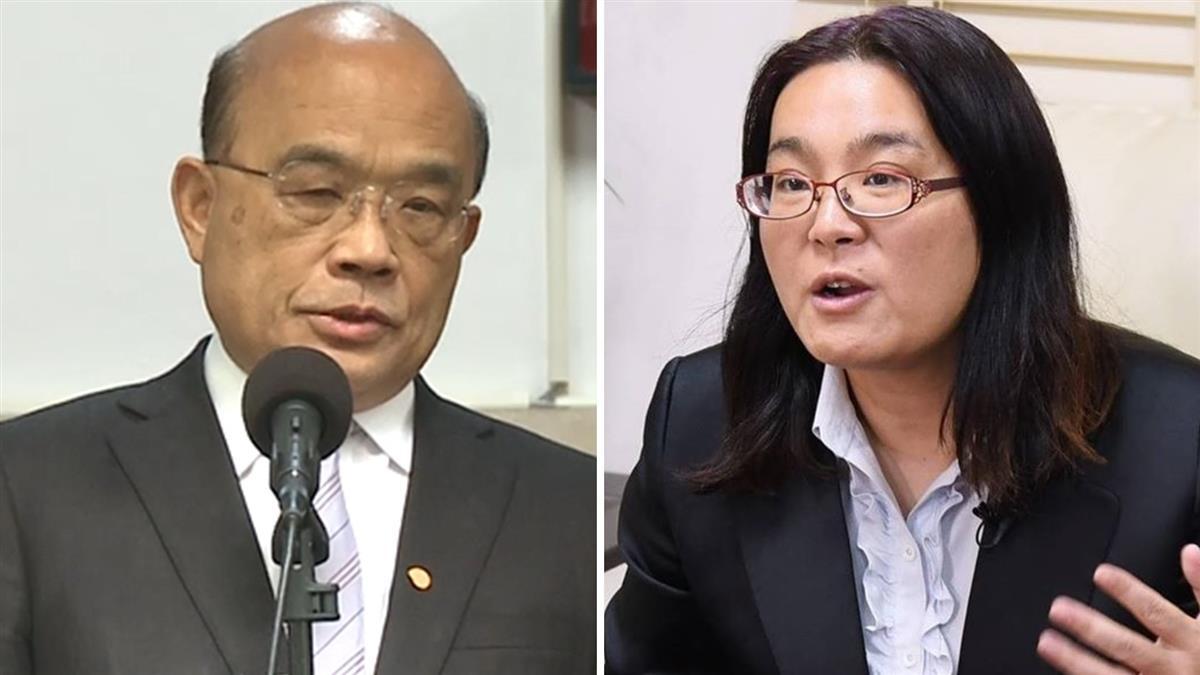 陳玉珍稱台灣不是國家 蘇貞昌重批:沒資格當國會議員
