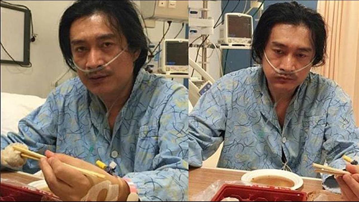 黃安見「武漢肺炎」不爽 當場塗改店家看板:井蛙的錯別字