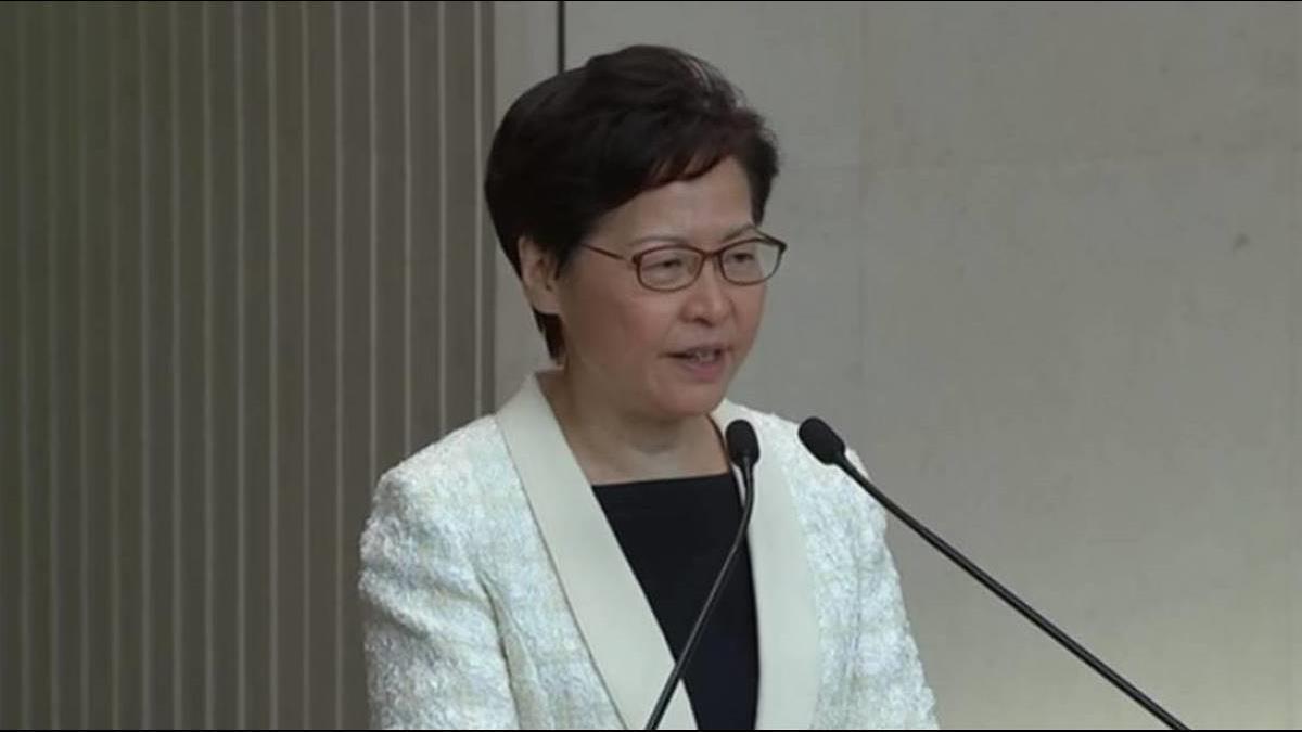 港媒問能否確保新聞自由? 林鄭月娥:記者先保證不違國安法