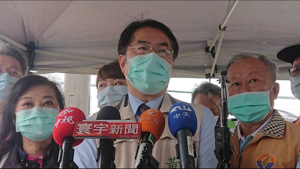 台南室內戴口罩 2週宣導期開跑 黃偉哲:疫情嚴峻才開罰