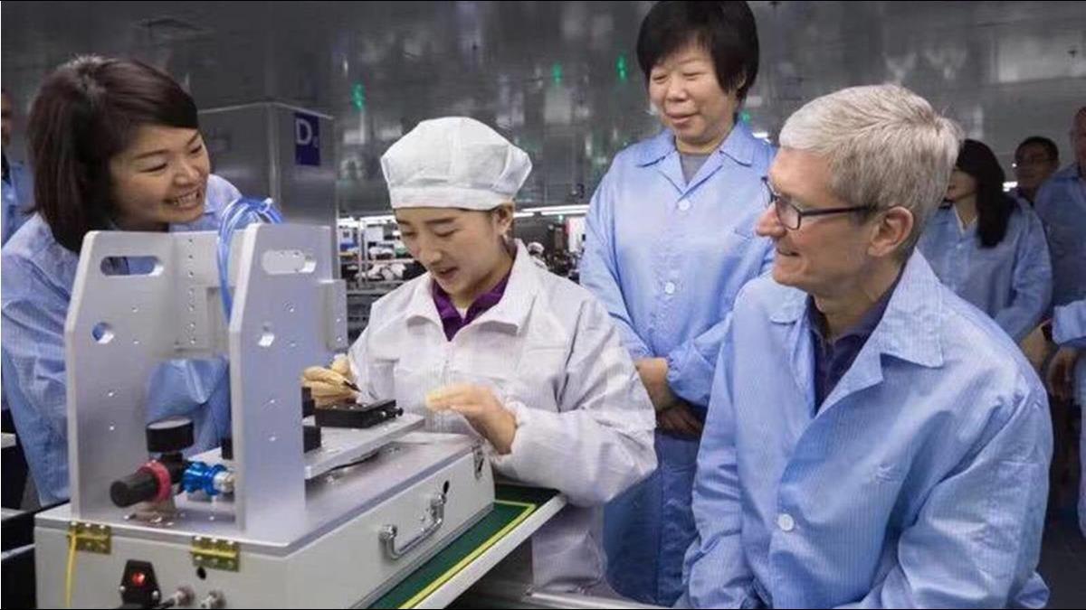 女版郭董搶蘋果有夠殺 台商曝立訊爭單內幕